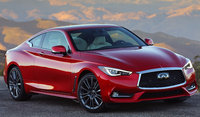 2018 INFINITI Q60, Front-quarter view., exterior, manufacturer, gallery_worthy