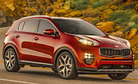 2018 Kia Sportage, Front-quarter view., exterior, manufacturer, gallery_worthy