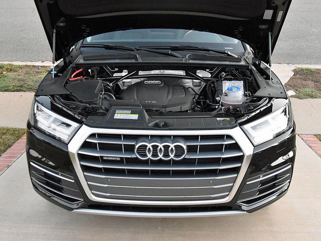 2018 Audi Q5 Premium Plus turbocharged 2.0-liter 4-cylinder engine