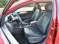 2018 Hyundai Sonata Limited 2.0T Black leather front seats, gallery_worthy