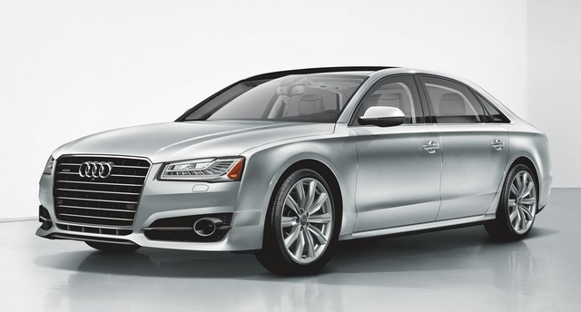 Picture of 2018 Audi A8, exterior, manufacturer, gallery_worthy