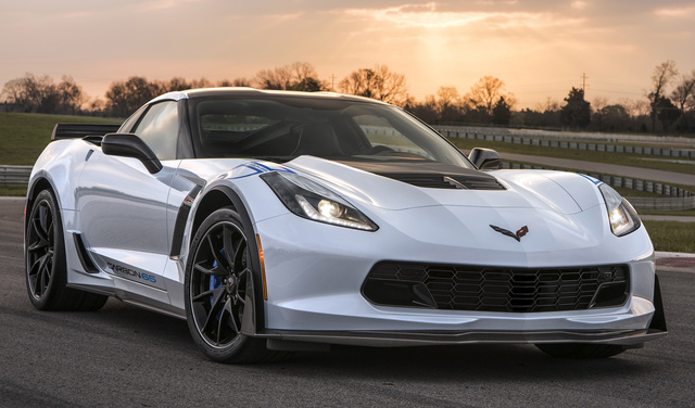 2018 Chevrolet Corvette, Front-quarter view, exterior, manufacturer, gallery_worthy