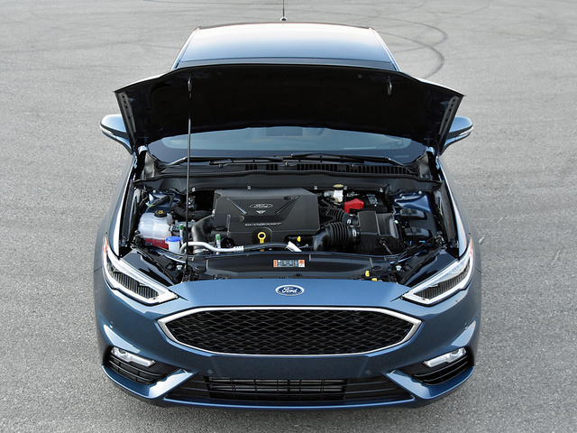 2018 Ford Fusion Sport twin-turbocharged 2.7-liter 