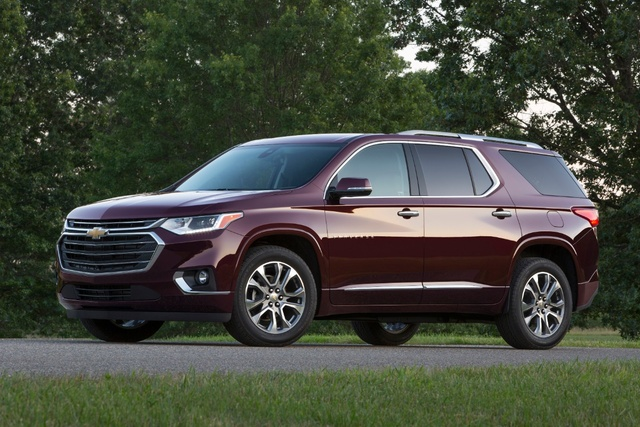 Car Review For  Chevy Traverse