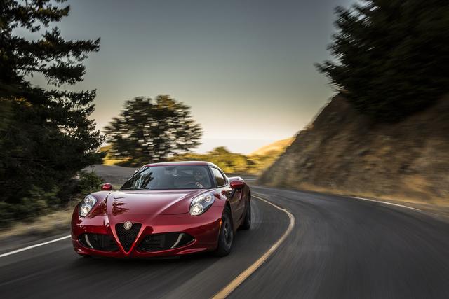 2018 Alfa Romeo 4C, exterior, manufacturer