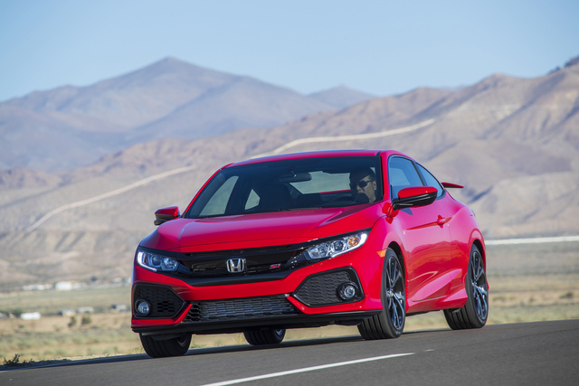 2018 Honda Civic Si Coupe, exterior, manufacturer