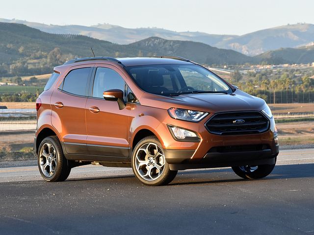 2018 Ford Ecosport Overview Cargurus