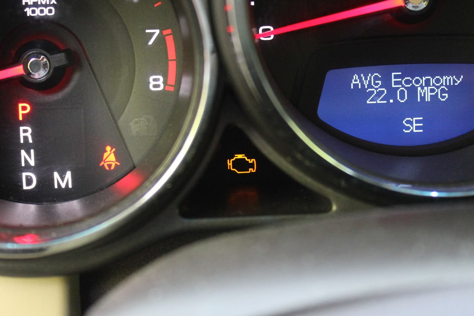 "A car's computer, sometimes called the powertrain control module (PCM),  uses a picture of an engine or words along the lines of ""Service Engine Soon""  on the ..."