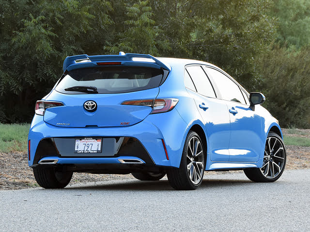 2019 Toyota Corolla Hatchback Overview Cargurus