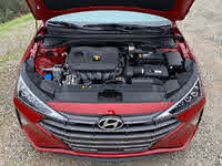 2019 Hyundai Elantra Limited 2.0-liter 4-cylinder engine, gallery_worthy
