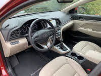 2019 Hyundai Elantra Limited Beige Interior Dashboard, gallery_worthy