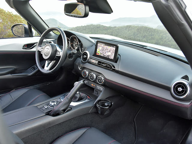 2019 Mazda MX-5 Miata RF Dashboard, gallery_worthy