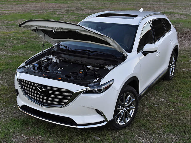 2019 Mazda CX-9 Turbocharged 2.5-liter 4-cylinder engine, gallery_worthy