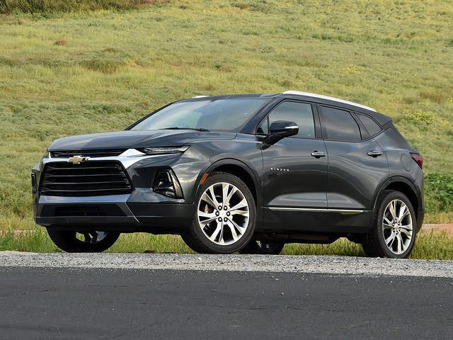 2019 Chevrolet Blazer Premier in Graphite Metallic