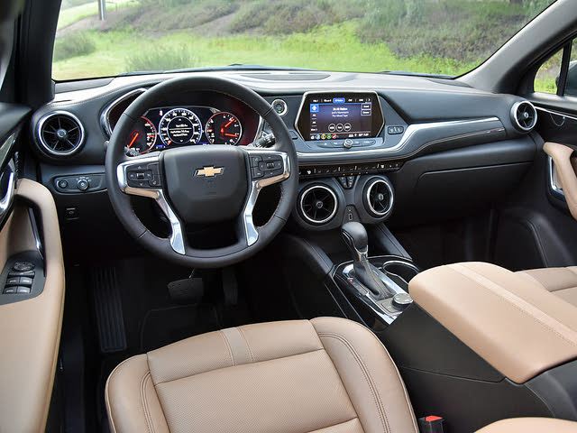2019 Chevrolet Blazer Premier Dashboard, gallery_worthy