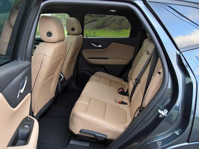 2019 Chevrolet Blazer Premier Maple Sugar Leather Back Seat, gallery_worthy