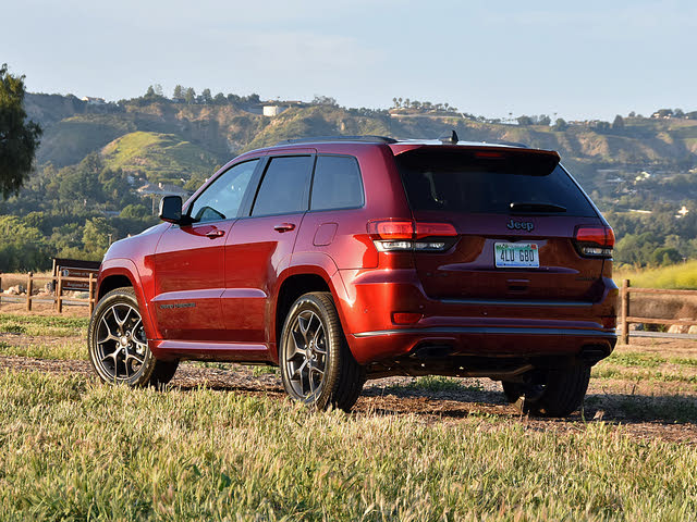 2019 Jeep Grand Cherokee Limited X in Red, gallery_worthy