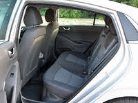2019 Hyundai Ioniq Hybrid SEL Black Cloth Back Seat, gallery_worthy