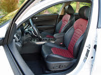2019 Kia Optima SX Red and Black Front Seats, gallery_worthy