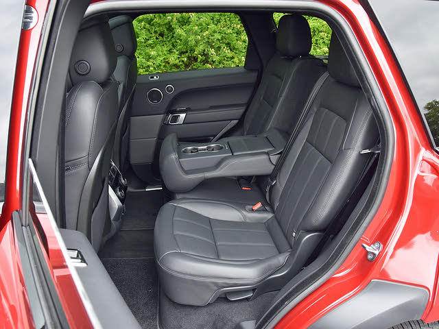 2020 Land Rover Range Rover Sport Plug-in Hybrid Back Seat, gallery_worthy