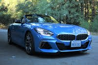 2020 BMW Z4 front-quarter view, exterior, gallery_worthy