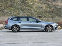 2020 Volvo V60 Hybrid Plug-in, 2020 Volvo V60 T8 Polestar Engineered Gray Side View, gallery_worthy