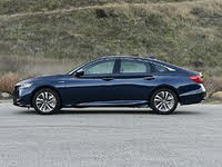 2020 Honda Accord Hybrid Touring Blue Side View, exterior, gallery_worthy