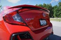 2020 Honda Civic Si rear, exterior, gallery_worthy