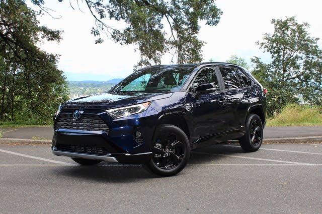 2020 Toyota RAV4 Hybrid front