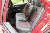 2020 Toyota Camry TRD rear seat, interior, gallery_worthy