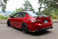 2020 Toyota Camry TRD rear, exterior, gallery_worthy