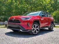 2021 Toyota RAV4 Prime - front three-quarter view, gallery_worthy
