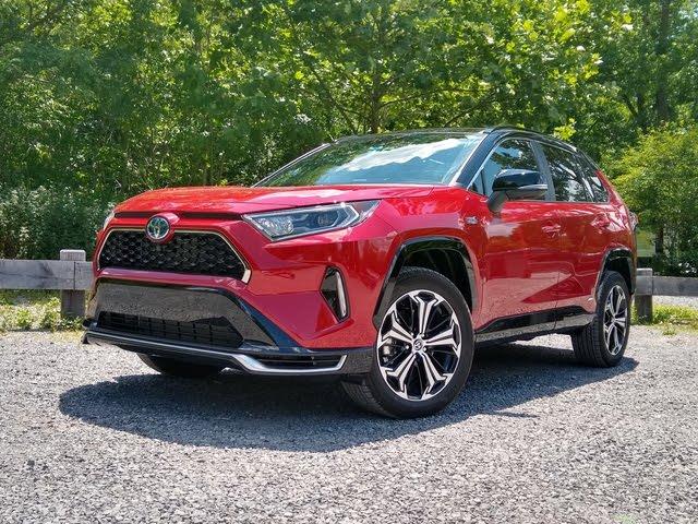 2021 Toyota RAV4 Prime - front three-quarter view