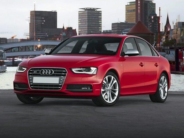 2014 Audi S4 3.0T quattro Premium Plus Sedan AWD
