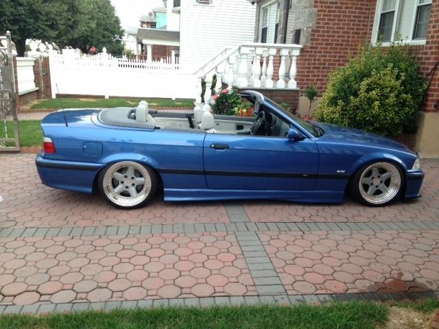 ... 1999 BMW M3 Estoril Blue/Dove Interior - Vert 117k miles. Clean Carfax
