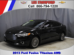 2013 ford fusion titanium awd used cars in dearborn mi 48124 - 2013 Ford Fusion Titanium