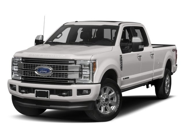 2018 Ford F-250 Super Duty Platinum Crew Cab 4WD