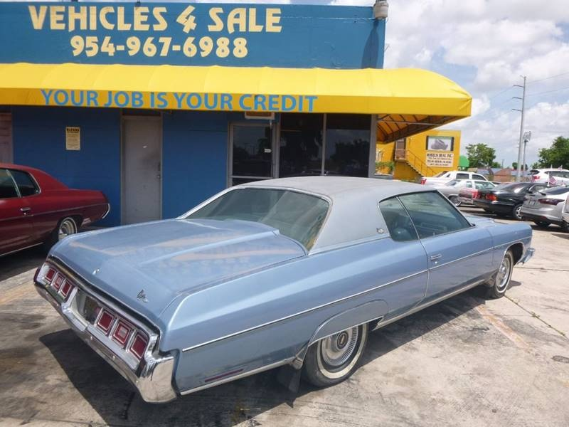 1973 Chevrolet Caprice, Vehicles 4 Sale, Hollywood, FL, 33021