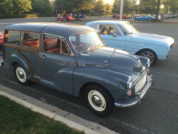 1960 Morris Minor 1000 Traveler