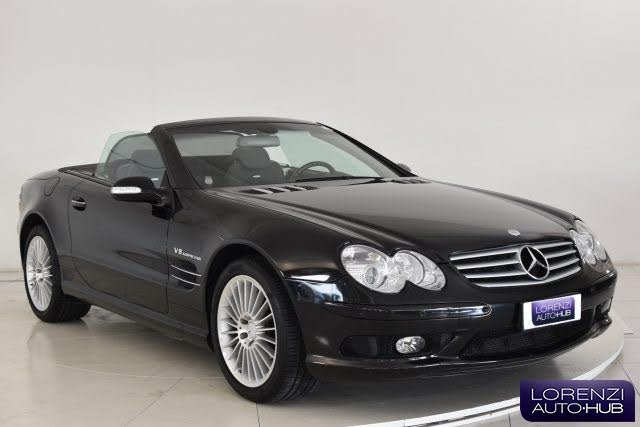 2002 Mercedes-Benz Classe SL SL 55 Kompressor cat AMG