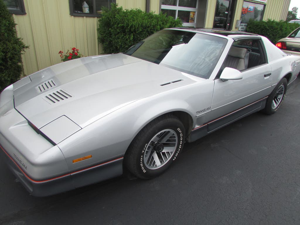used 1986 pontiac firebird for sale right now cargurus used 1986 pontiac firebird for sale