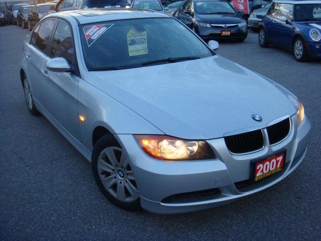 2007 BMW 3 Series 323i Sedan RWD