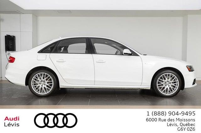 2015 Audi A4 2.0T quattro Komfort Sedan AWD