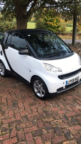 2010 Smart fortwo 0.8TD Pulse Coupe (59 reg)
