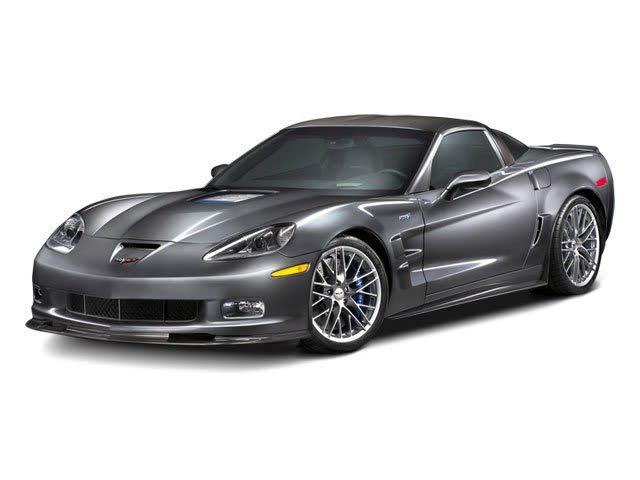 2010 Chevrolet Corvette ZR1 3ZR Coupe RWD
