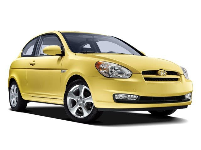 2009 Hyundai Accent GS 2-Door Hatchback FWD