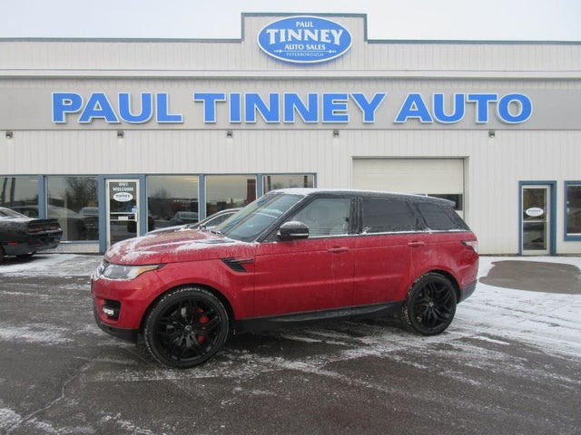 2015 Land Rover Range Rover Sport V8 Supercharged Dynamic 4WD