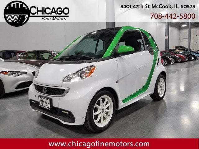 2013 smart fortwo electric drive hatchback RWD