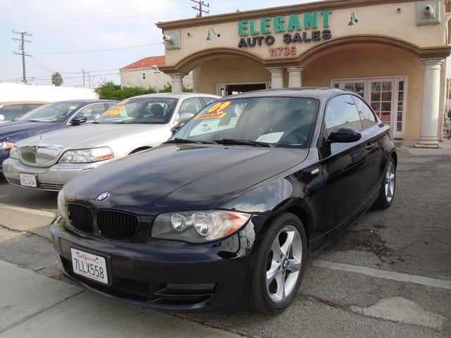 2009 BMW 1 Series 128i Coupe RWD