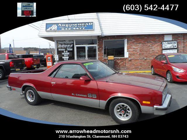 1986 Chevrolet El Camino SS RWD